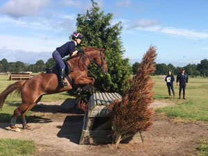 Nick coaching eventing at Somerford Park in 2014